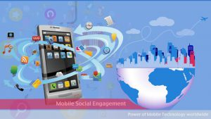 Do you engage via integrated Mobile + Social strategy to handle CRM?