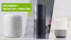 HomePod vs Amazon Echo vs Google Home